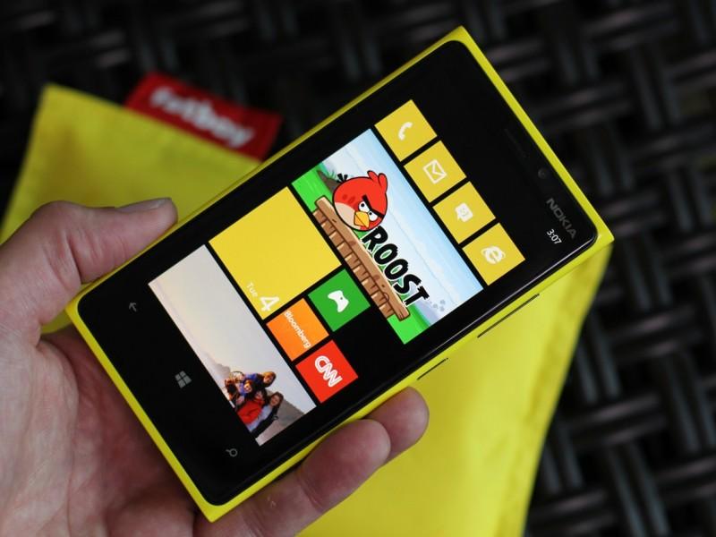 smartphones jaune