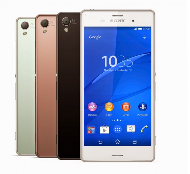 sony xperia z3 collection