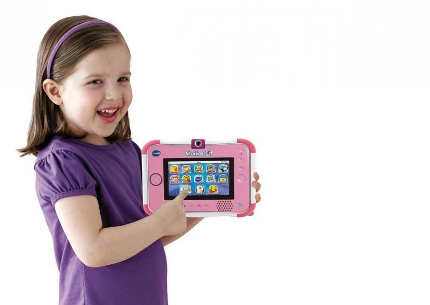 tablette tactile rose enfant