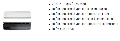 Bouygues Telecom Bbox Miami VDSL