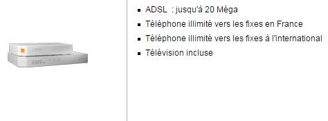 Orange Livebox Zen ADSL