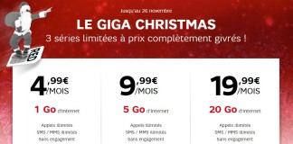 RED by SFR giga christmas