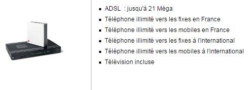 SFR Box Starter ADSL
