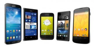 Smartphones avec forfait