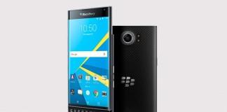 blackberry priv fond gris