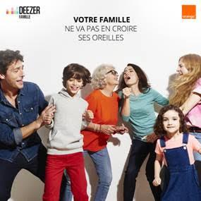Deezer lance ��Deezer Famille�� en exclu chez Orange !