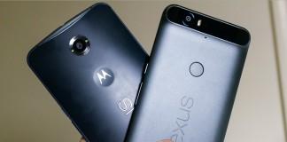 google nexus 6 et 6P