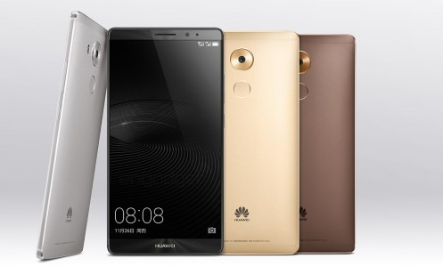 Huawei d�voile le Mate 8