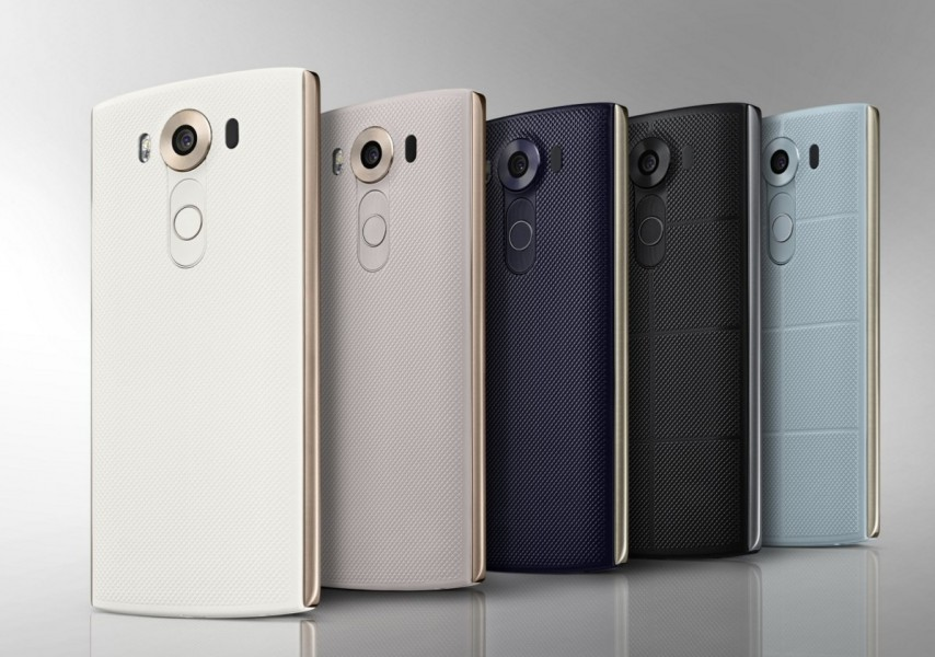 lg v10 collection