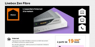 orange livebox zen fibre