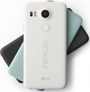 les différents coloris du Google Nexus 5X