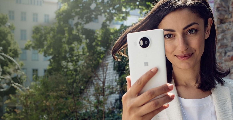 microsoft lumia 950 selfie