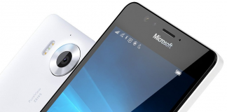 Microsoft Lumia 950 XL Blanc