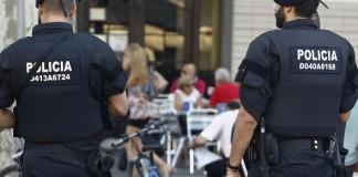 police espagnole qui ne montre pas l'exemple