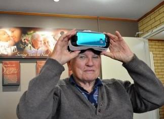 réalité virtuelle testée en maison de repos