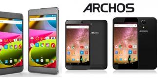 Les deux nouvelles gammes de smartphones d'Archos