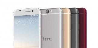 Les 4 coloris du HTC One A9