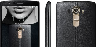 LG G4 Noir Cuir