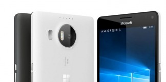 Microsoft Lumia 950 XL blanc et Noir