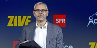 Michel Combes, directeur de SFR