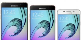 Samsung Galaxy A3 A5 et A7 2016