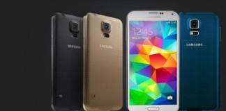 Les 4 couleurs du Samsung Galaxy S5
