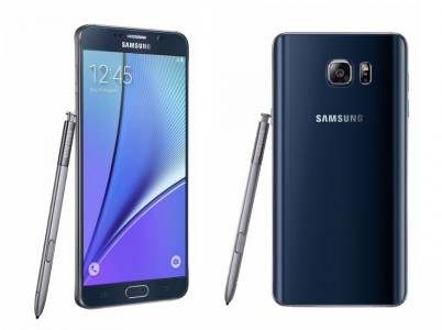 Samsung Galaxy Note 5 en Noir