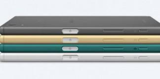 Les différents coloris du Sony Xperia Z5