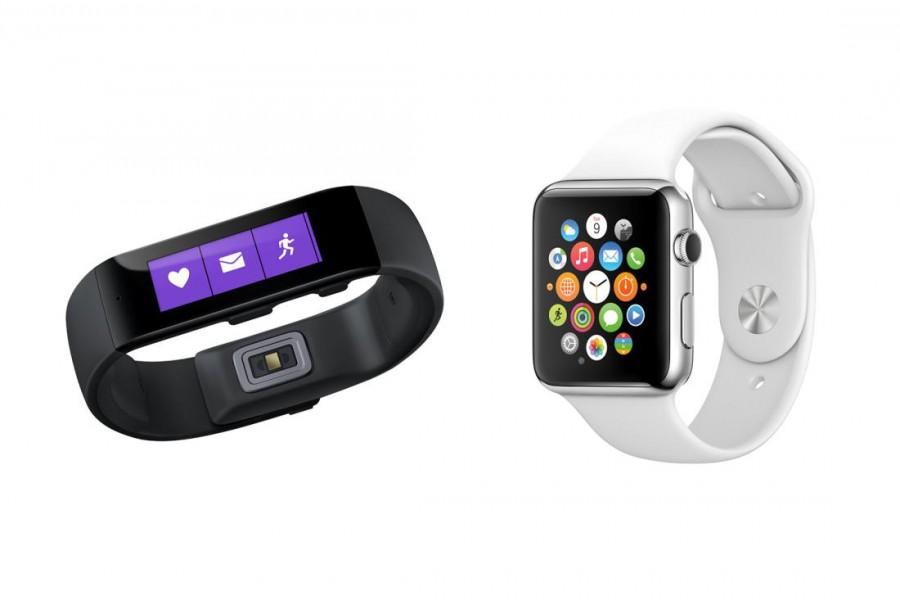 apple watch microsoft band