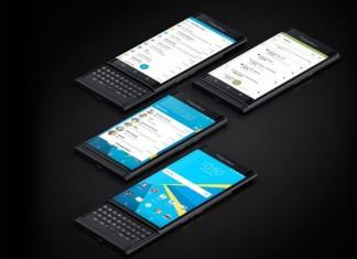 Blackberry Priv en Noir