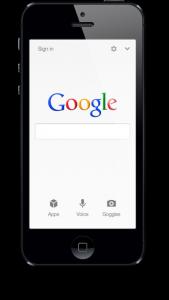 Google sur iPhone