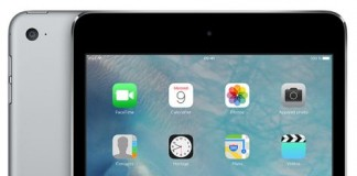 iPad mini 4 gris sidéral