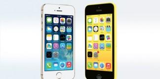 iPhone 5C et iPhone 5S
