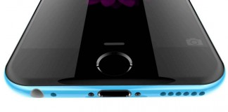 iphone 6c bleu bas$
