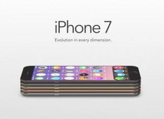 iPhone 7 déclinaisons couleurs