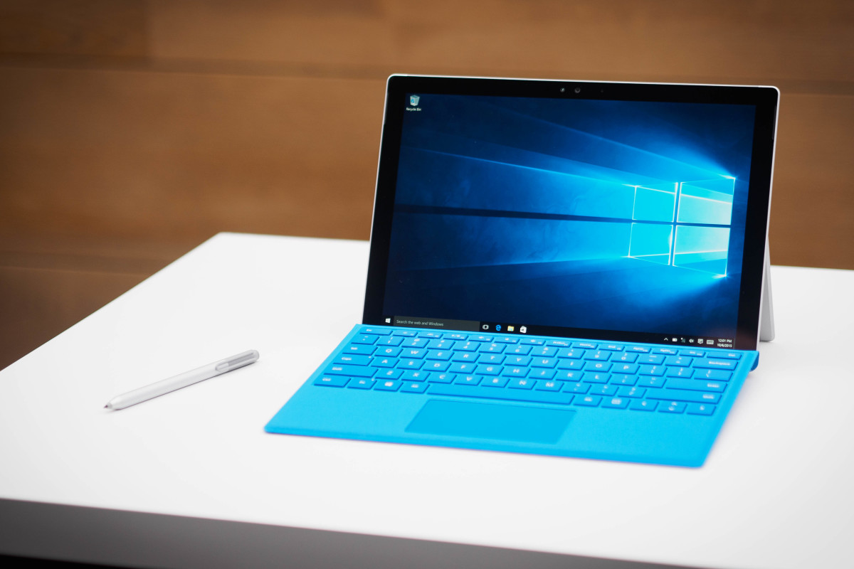 test microsoft surface pro 4 une volution pas une. Black Bedroom Furniture Sets. Home Design Ideas