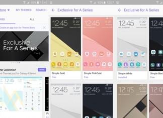 Nouveaux thèmes pour les Samsung Galaxy A 2016