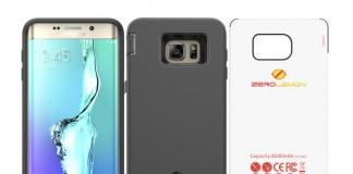 Coque batterie pour Samsung Galaxy S6 Edge Plus