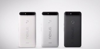 Google Nexus 6P coloris