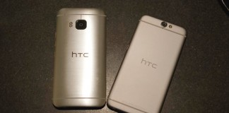 HTC One A9 et M9