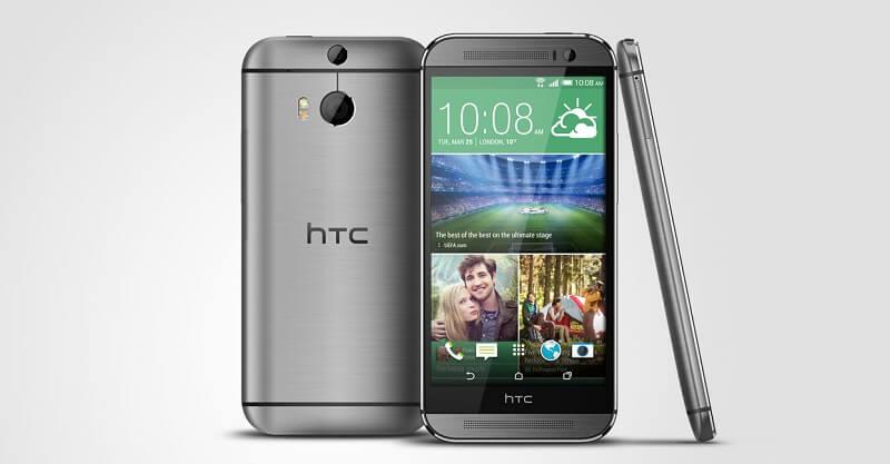 HTC One M8 et M9