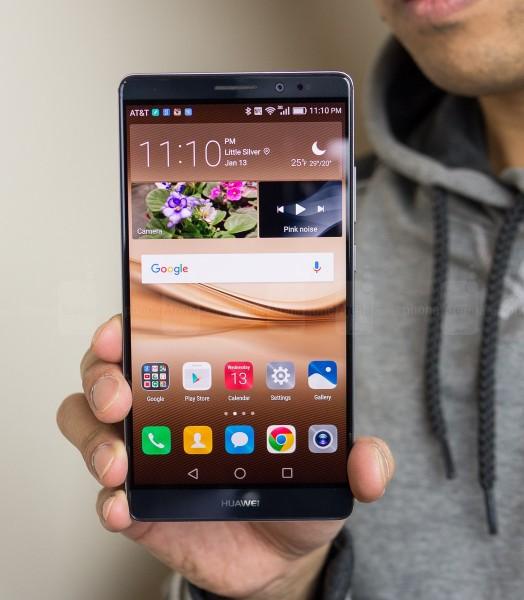 Huawei Mate 8 .