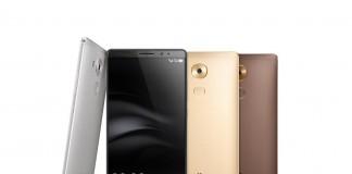 Huawei Mate 8 différents coloris