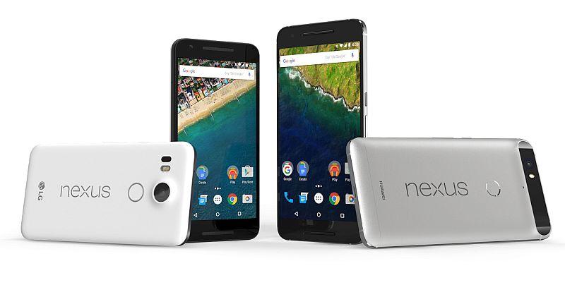 Nexus 5X et 6P