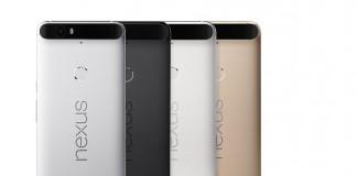 Google Nexus 6P déclinaisons de couleurs