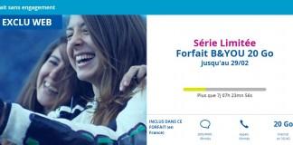 Nouveau Forfait B&You