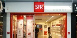 Enseigne SFR forfait mobile