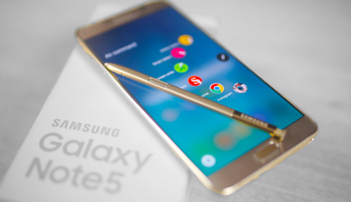 Samsung Galaxy Note 5 Or