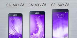 Samsung galaxy Gamme A 2016