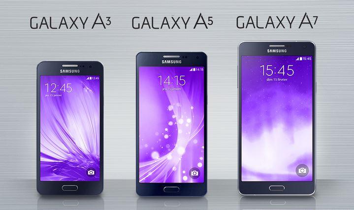 samsung galaxy a5 et a3 quels sont les prix les moins chers meilleur mobile. Black Bedroom Furniture Sets. Home Design Ideas